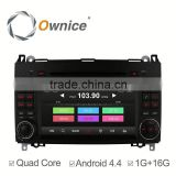 Wholwsale ownice quad core android 4.4 multifunction car DVD for Benz Vito (2009-2011) support rear camera ipod dvr USB