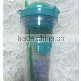 plastic cup for lemon juice