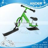 Sports metal ski scooter Child snow scooter Kids snow sled Winter toy