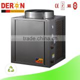 Guangzhou Deron mini air to water heat pump water heater heating systems for sanitary hot water easy installing