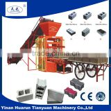 QTJ4-26C manual concrete block making machines small hollow block machine/small hollow block machine