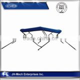 3 Bow Bimini TOP Boat Cover with Rear Poles hot sale in USA