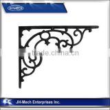 Ornate Pattern Cast Iron Wall Shelf Bracket
