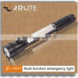 Aluminum Multi-functional car emergency led light with magnet protable Vehicle Emergency Flashlight warning work light