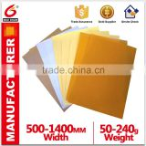 High Quality Yellow Glassine Paper Silicone Paper Industrial Paper Virgin Paper Jumbo Roll