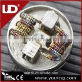 Pre made coil UD Premade Coil Staggered fuse Staple staggered fuse clapton coil Resistance Wire For goblin mini v3 RBA/RDA