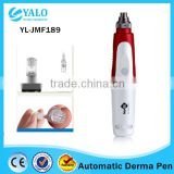 3 In 1 Derma Roller  Derma Rolling System / Electric Skin Micro Needle Derma Roller Care / Meso / Derma Pen Derma Roller Kit For Acne Scars