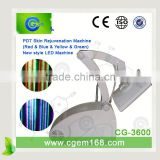 Led Light For Face CG-3600 4 Color PDT Freckle Removal      Machine Pdt Mask For Anti-aging Led Facial Light Therapy Machine