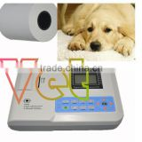 Cheap Price Vet Portable Digital 1 channel Veterinary Electrocardiograph ECG EKG-901V-2 Machine with printer