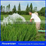 Solar Pumping System 4KW Rated Flow 5CBM/h Head 161m Water Supply System for farm irrigation