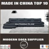 New design black color living room modural sofa(LZ-2807)
