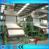 1880mm single dryer& single cylinder mould toilet paper machine, paper machine factory