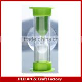 high quality Hourglass with Sucker 1 minute sand timer 3 minutes sand timer made in China