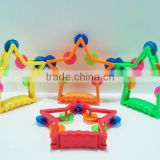 Lovely Star Cartoon Plastic Tambourine For Kids School hand drum Plastic tambourine