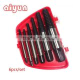 High Quality Professional 6PCS Coarse Thread Screw Extractor Set