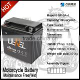 Bright Starting Motorcycle Battery