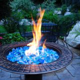 Fire Glass in Fire Pit