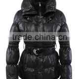 ALIKE mink cheap rabbit fur coat
