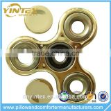 Finger fidget spinner for game play with ceramic bearing