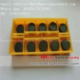 PCBN turning inserts tools for hardened steel, cast alloy iron, nodular cast iron, gray iron, roller and brake disc