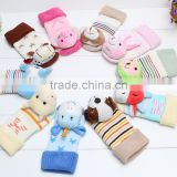 Autumn and winter leather brand new baby baby doll stereo dispensing floor socks socks wholesale factory outlets