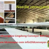 High Speed needle corrugator belt