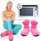 Health Care Pink Adult Boots Microwave For 90 Seconds