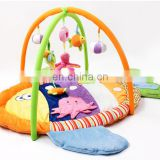 2016 Hot sale Babies Soft Toys Folding Play Gym Mats With Music