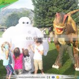 KAWAH Dinosaur Prank Equipment Allosaurus Moving Realistic Dinosaur Costume for sale