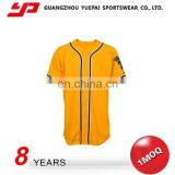 Hot Design Elastic Latest Style High Quality Blank Baseball Jersey Wholesale