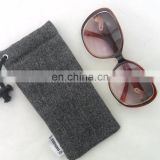 Custom Padded Sunglass Case, Eye Glass Holder, Soft Glasses Pouch with tag