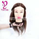 training head for hairdressers China manufacture custom mannequin head natural hair training head