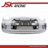 2008-2014 WALD STYLE GLASS FIBER FRONT BUMPER WITH CARBON FIBER NOSE COVER FOR NISSAN R35 GTR(JSK220973)