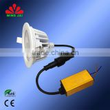 2015 best seller indoor light super bright smd 7W/9W/12W/15W recessed 120 volt led small round lights