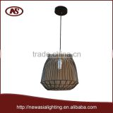 2015 fresh creative high hot buyer competitive factory trademark brand lighting design metal iron steel wires pendant lamp