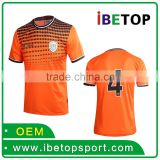 100% Polyester Sublimation Football Jersey Men Custom Soccer Jersey