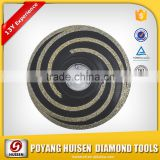 China factory Concave diamond grinding wheel