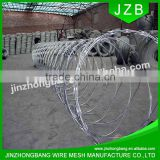 JZB-Alibaba China Trade Assurance ISO9001 Galvanized Razor Wire BTO-22\CBT-65\Razor barbed wire\concertina razor wire (Factory)