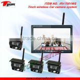 RV-7001WS 7inch wireless rearview camera set with 4CH display switch & CMOS/CCD camera