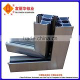 Aluminum Profiles Systems with Powder Coated Finish for Industrial, Windows, Doors, Curtain Wall, Handrail, Solar Systems, etc.