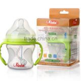 new born baby product milk bottles wholesale,silicone Baby bottle,water and milk mottles,babies feeding bottles