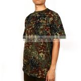 Breathable and compressed custom size camouflage polo t shirt