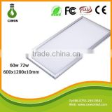 1200x600 LED panel lighting led panel light price 4500lm high lumen 60w led panel light for indoor