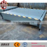 hydraulic edge stationary container dock leveler