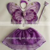 fantasy artificial butterfly wing/handmade high quality fairy wings costume set