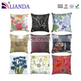 High quality cherry stone fancy throw green silk decor pillow                                                                         Quality Choice