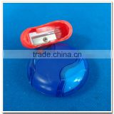 Promotional unique plastic pencil sharpener with eraser                                                                         Quality Choice