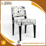 Leather CommercialRestaurant Furniture Fast Food Restaurant Chairs