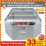 Mechanic car tool box set with frige