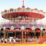 Double deck carousel amusement carousel rides